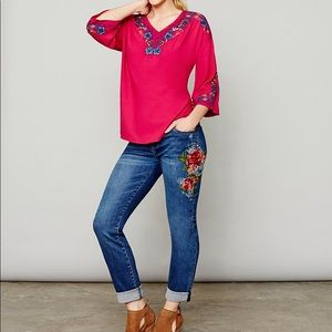 KUT from the Kloth | Catherine Floral Print Jeans